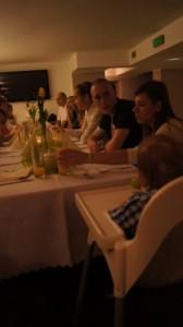 podczas obiadu w Studni - z perspektywy najmłodszego Kacpra