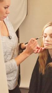 drugi dzień rozpoczęty od lekcji makijażu