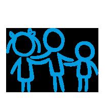 Rodziny SOS mogą liczyć na całodobowe wsparcie naszych specjalistów i psychologów.
