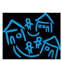 Prowadzimy 4 SOS Wioski Dziecięce. Są domem dla 402 dzieci.